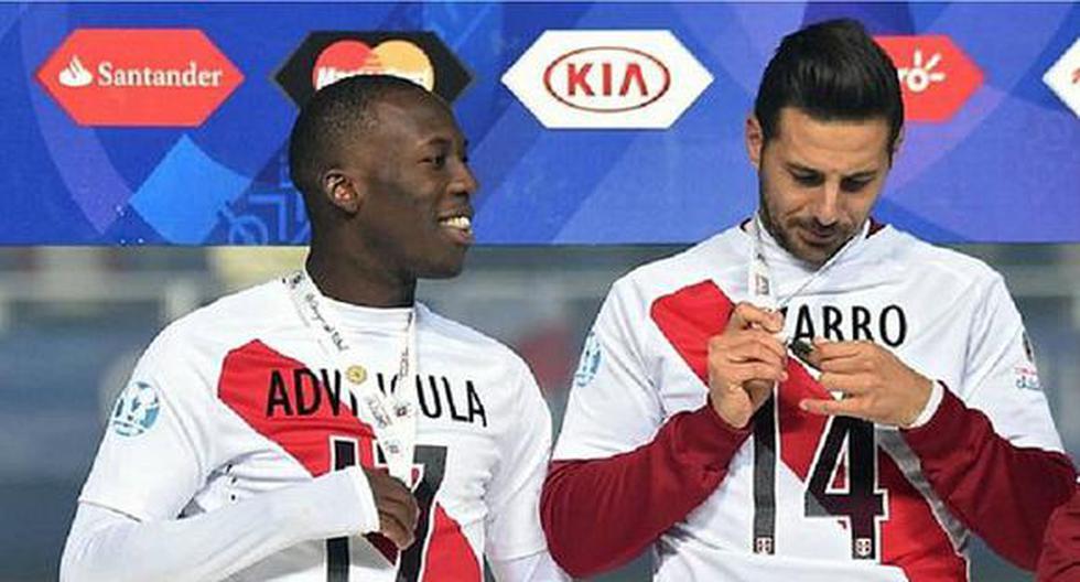 """Luis Advíncula se encontró con Claudio Pizarro: """"Gusto de verte capitán"""" [FOTO]"""
