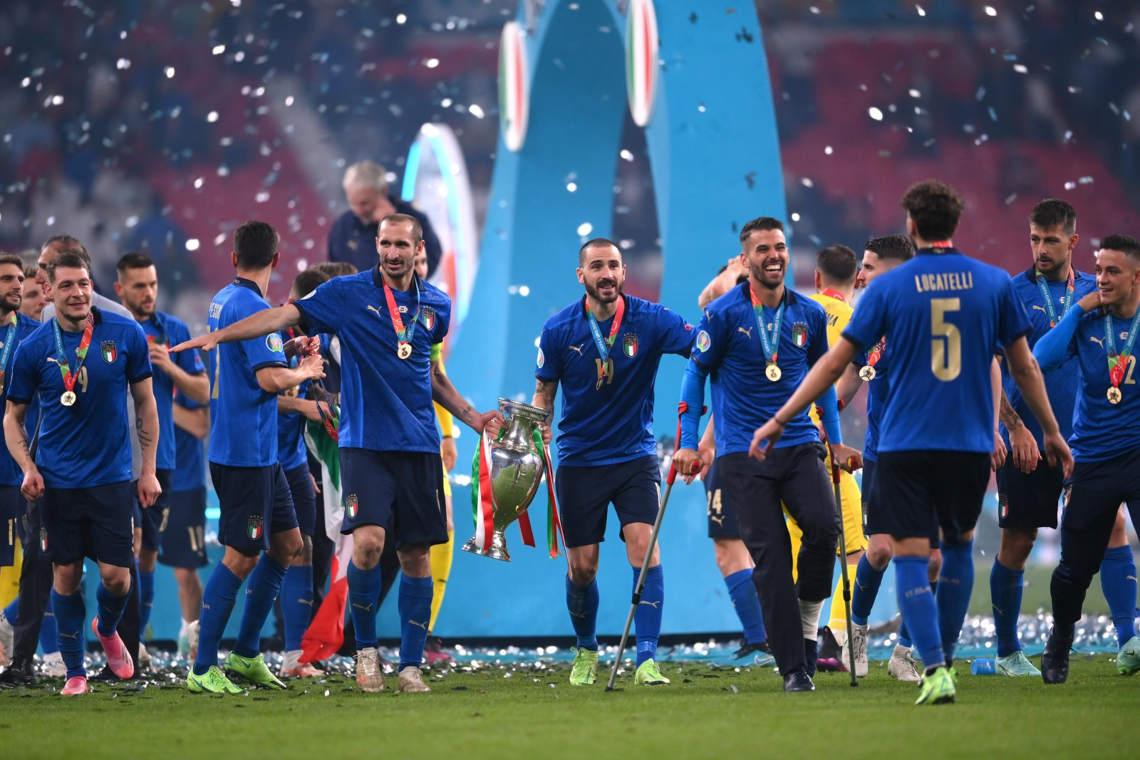 Five Italy players make UEFA's Team of the Tournament for Euro 2020