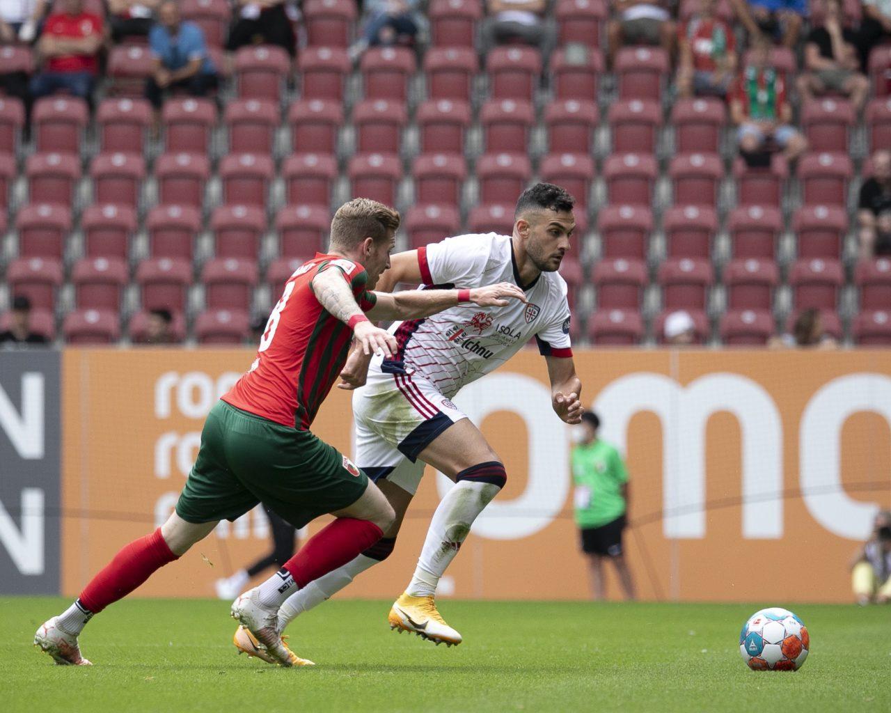 Friendly: Cagliari bow to Augsburg