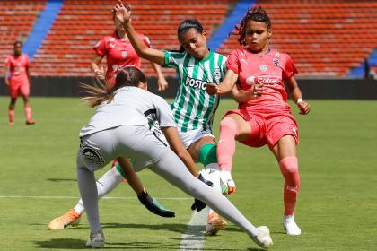 Fútbol femenino: Nacional derrotó 0-2 a Medellín en el clásico | Futbol Colombiano | Fútbol Femenino