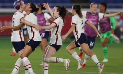 Fútbol olímpico femenino: Estados Unidos hasta después de la victoria en la tanda de penaltis