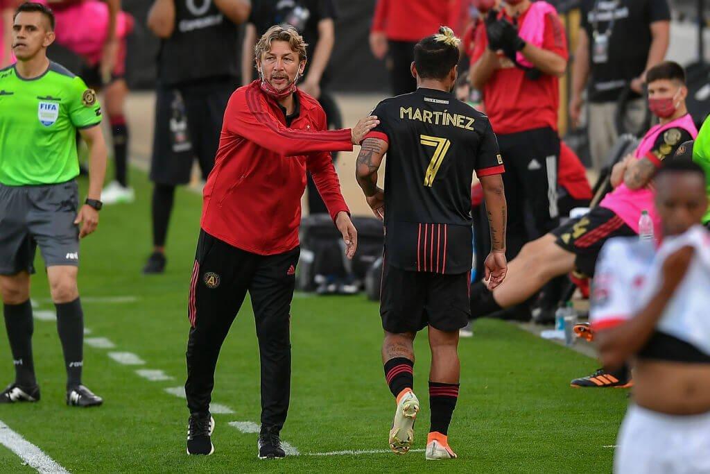 La disputa de Josef Martínez con Heinze puede llevar a la salida de Atlanta United - The Athletic