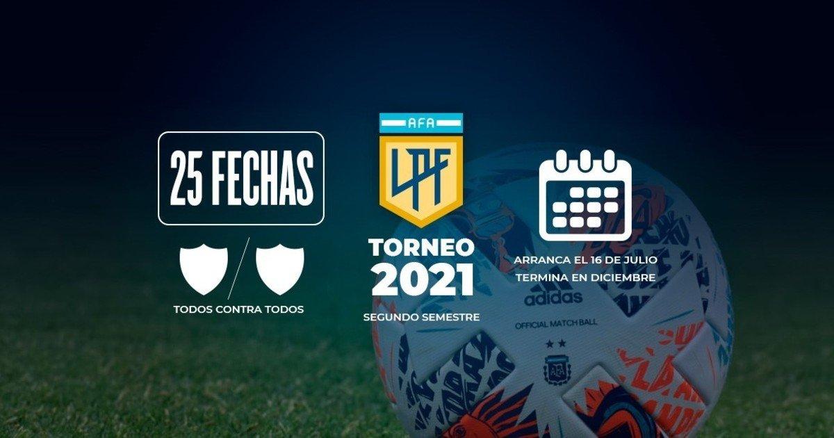 Las claves del nuevo torneo de la Liga Profesional