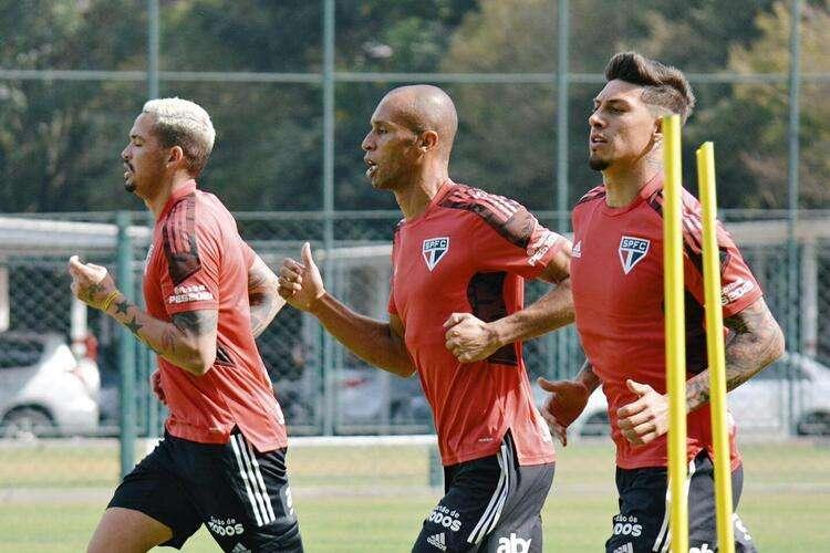 Libertadores: Miranda, Rigoni y Luciano refuerzan São Paulo ante Racing