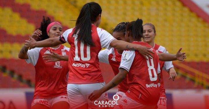 Liga Femenina Colombiana: Santa Fe debutó con triunfo tras vencer a Fortaleza en la Liga Femenina | Deportes