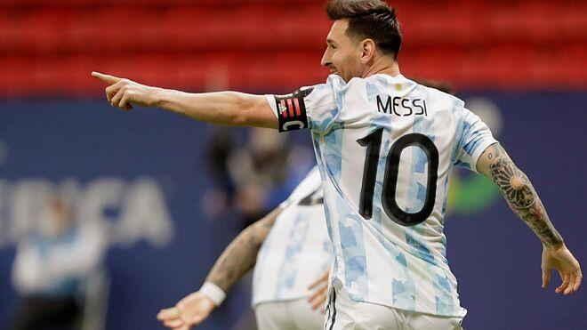 Lionel Messi tendrá que remontar la historia para llevar a Argentina a la Copa América