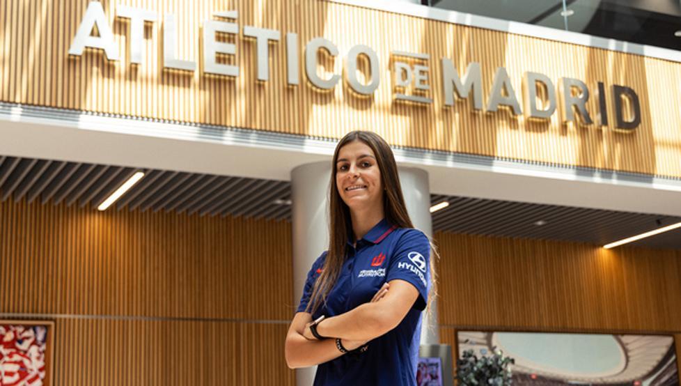 Majarín amplía contrato con el Atlético y se va cedida al Alavés