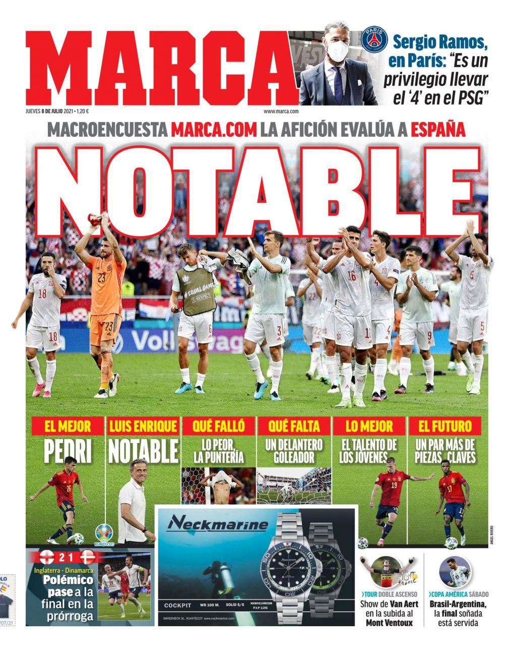 Documentos de hoy: Luis Enrique sale de la Euro 2020 en buena forma mientras Lionel Messi sangra por Argentina