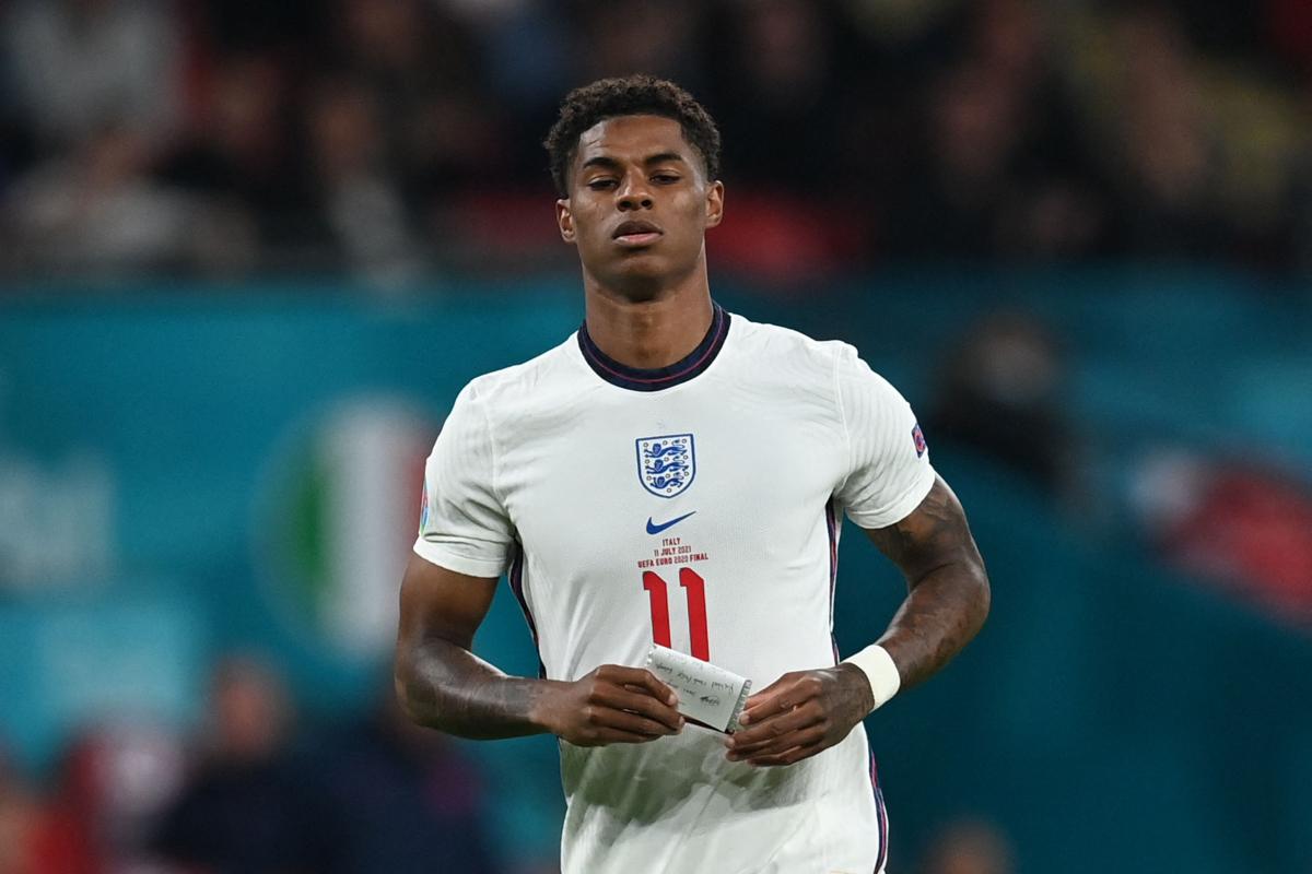 Marcus Rashford estará fuera hasta OCTUBRE con el Manchester United y la estrella de Inglaterra para someterse a una cirugía por una molesta lesión en el hombro