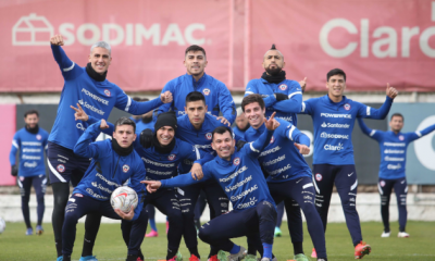 Chile ya arribó a Río de Janeiro para enfrentar a Brasil