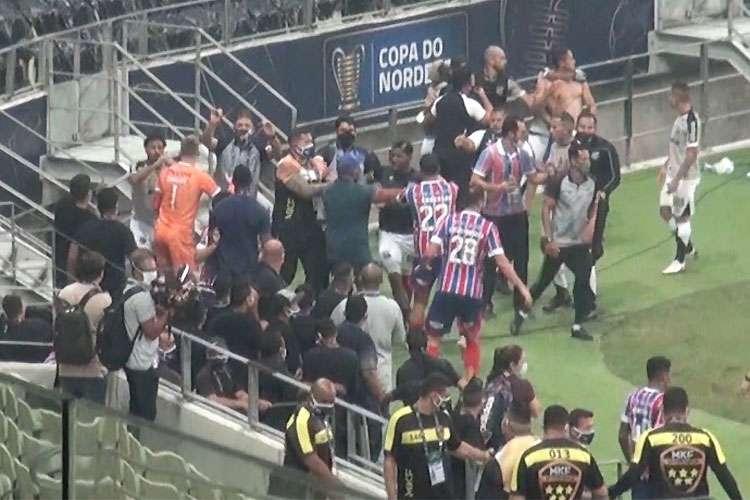 Northeast Cup: STJD castiga a Bahía, Cear y jugadores por pelear en la final