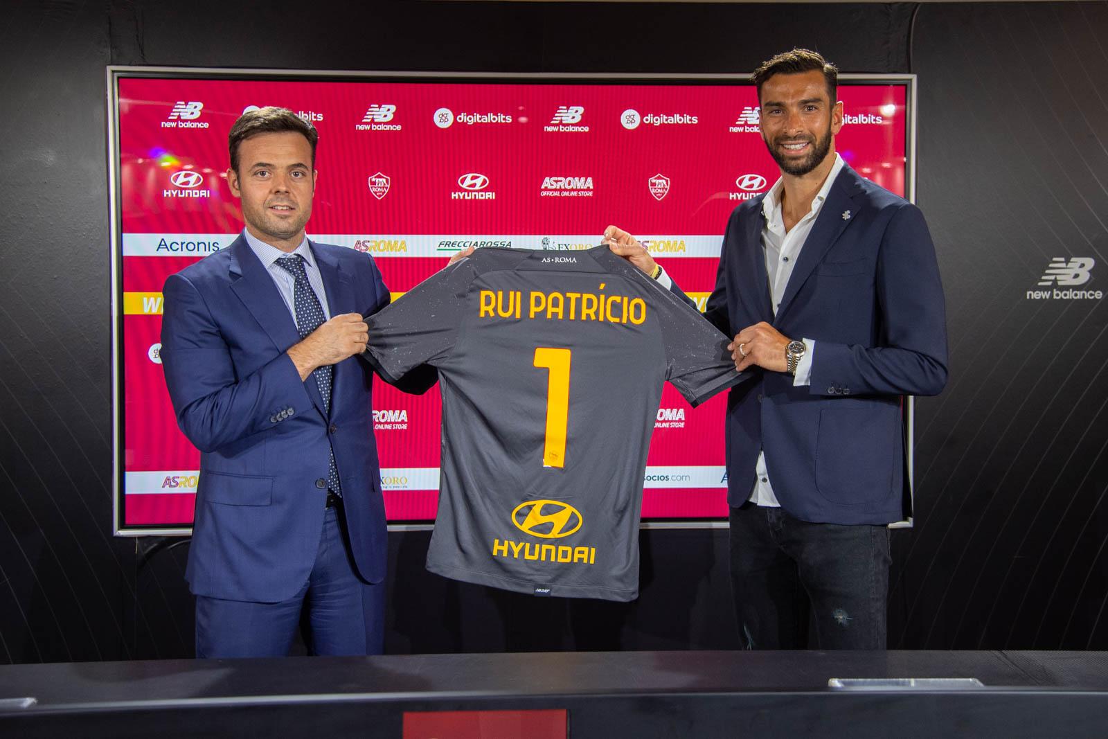 OFICIAL I La Roma anuncia el fichaje de Rui Patrício