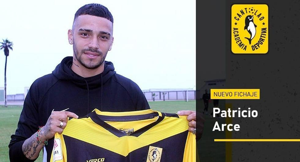Patricio Arce es el nuevo fichaje de Cantolao tras ser baleado en enero de este año