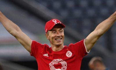 Por segundo año consecutivo Lewandowski fue elegido Jugador del Año en Alemania