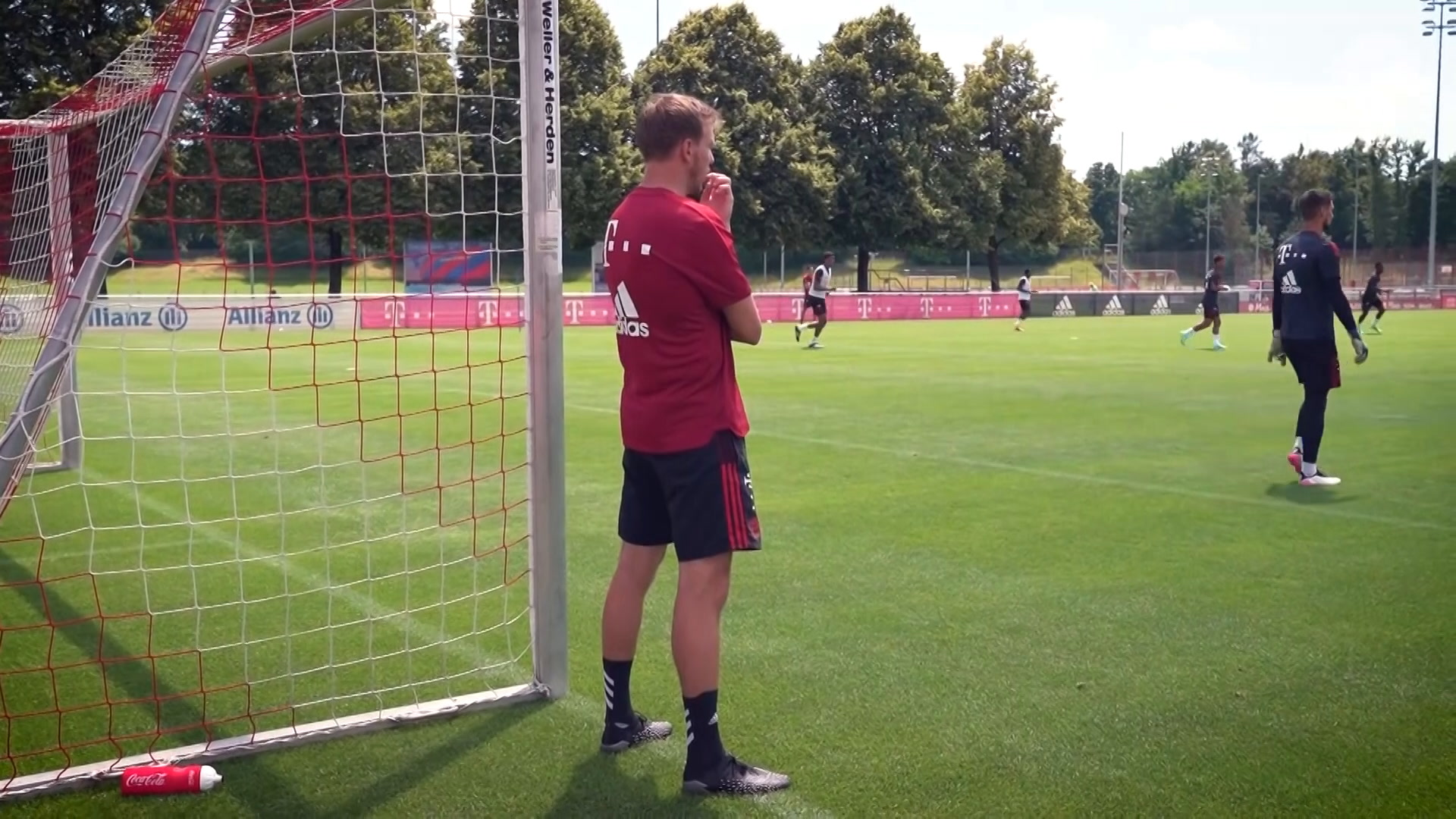 Primera semana de entrenamiento de Julian Nagelsmann en el FC Bayern