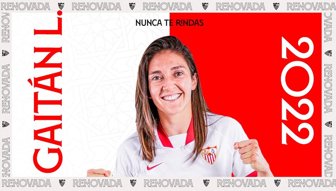 Natalia Gaitán renovó por un año más con el Sevilla de España