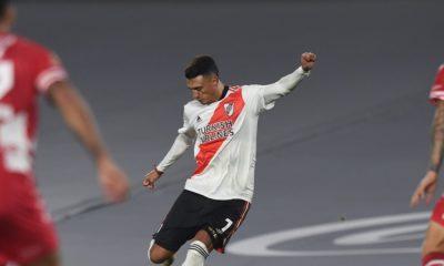 River Plate, con Carrascal como titular, goleó a Unión de Santa Fe por el torneo argentino