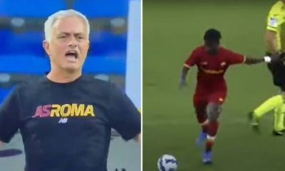 Serie A: Mourinho fumes at Roma starlet: Darboe, wake up!