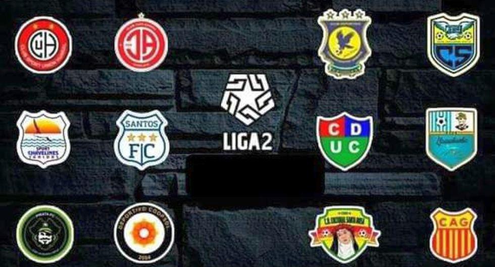 Tabla de posiciones de la Liga 2 EN VIVO con resultados de la Segunda División: actualización de la fecha 2 del torneo   FUTBOL-PERUANO