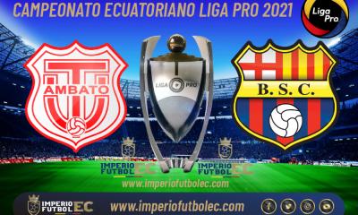 VER PARTIDO Técnico Universitario vs Barcelona EN VIVO por la jornada 2 Etapa 2 de la Liga Pro Ecuador