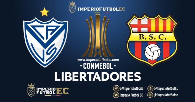VER Vélez Sarsfield vs Barcelona EN VIVO partido por la Copa Libertadores