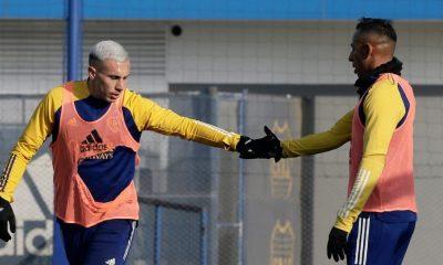 Con gol de Medina, Boca le gana a Sarmiento