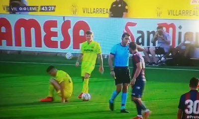 Ver: Roberto Soldado comete un desafío de terror en un amistoso de pretemporada con el Villarreal