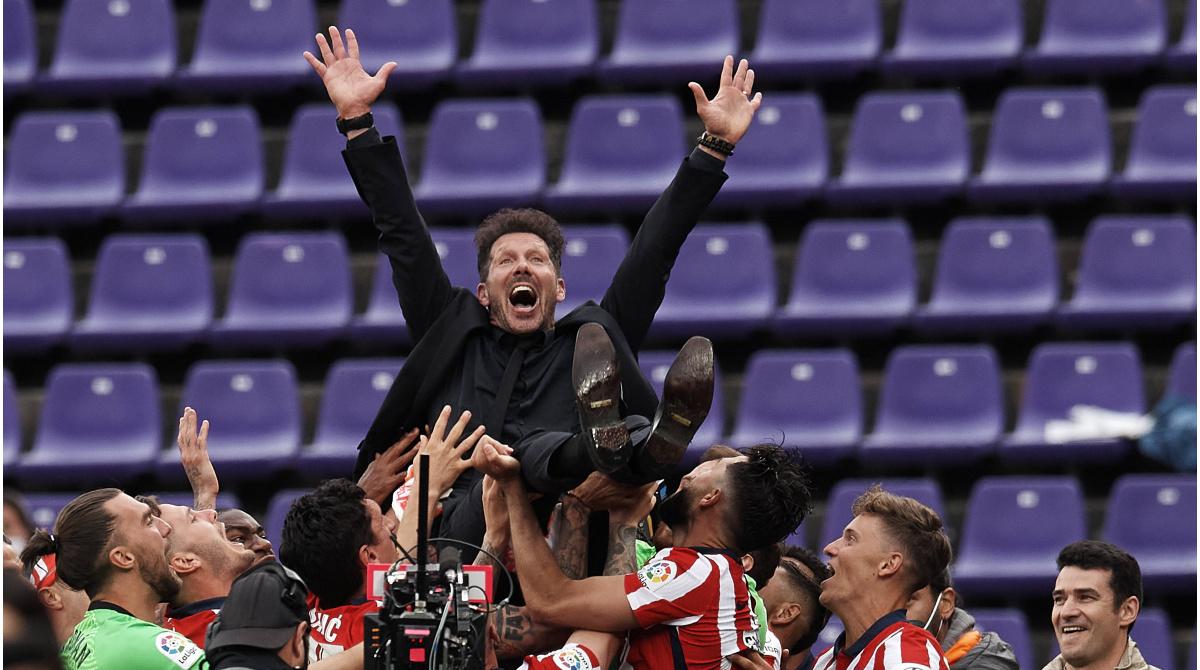 Simeone se extiende en el Atlético - La gestión más larga entre los clubes más valiosos