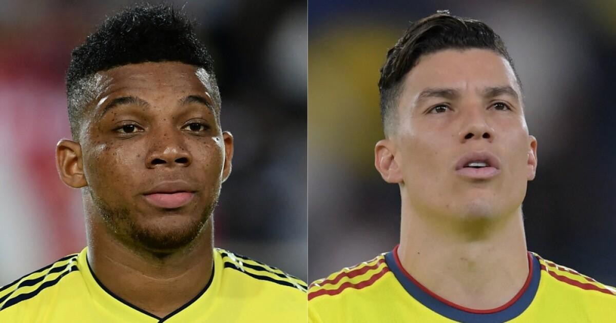 frank fabra y matheus uribe foto afp | Últimas Noticias Futbol Mundial
