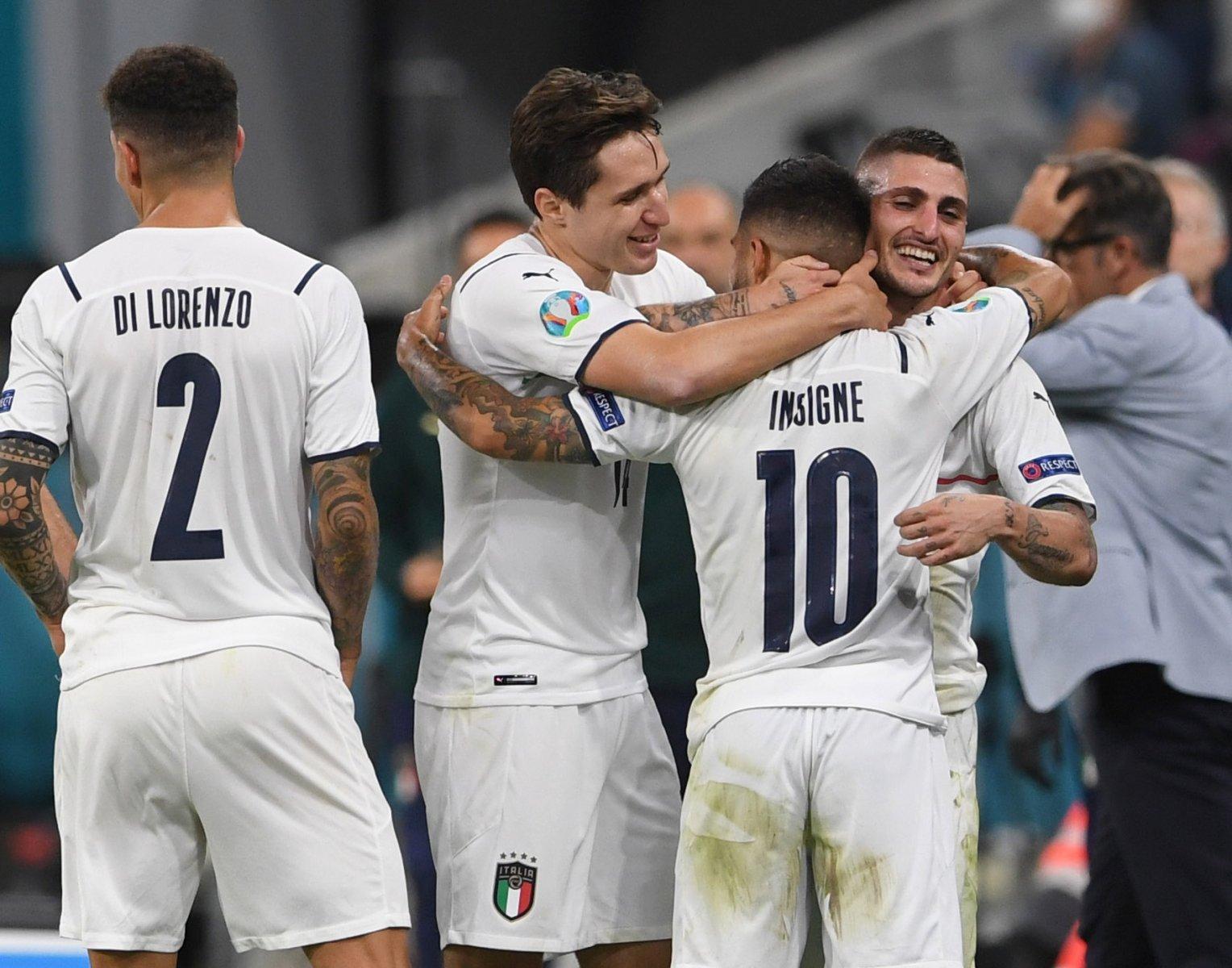 Italia rompe el récord del Campeonato de Europa con la victoria de Bélgica