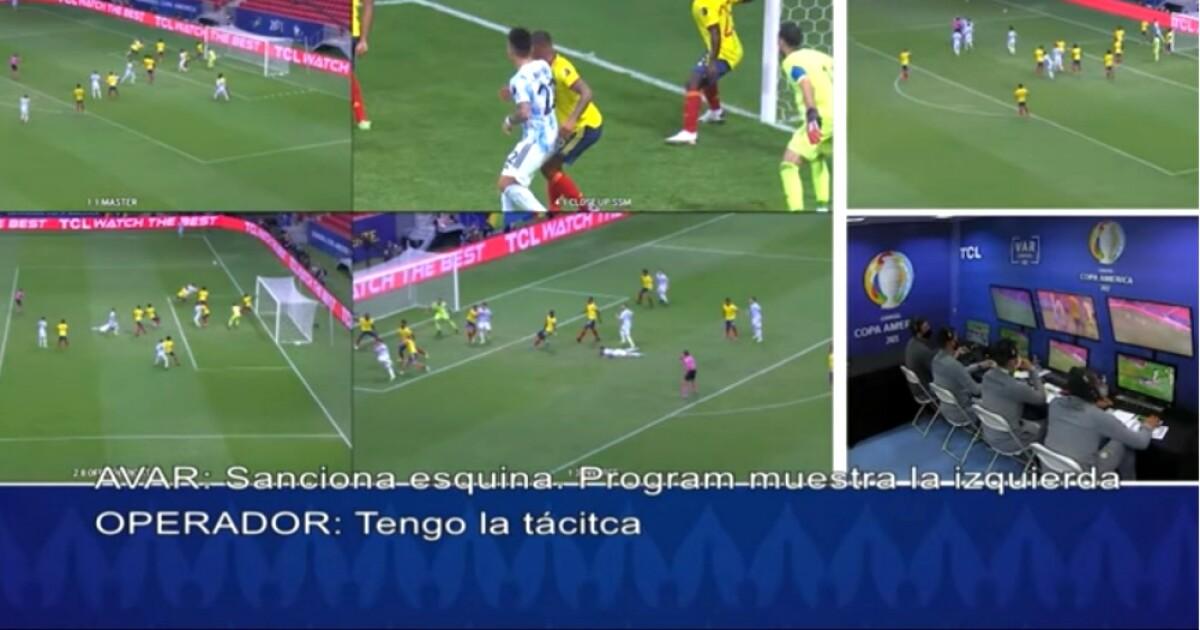 var colombia argentina foto captura de video   Últimas Noticias Futbol Mundial