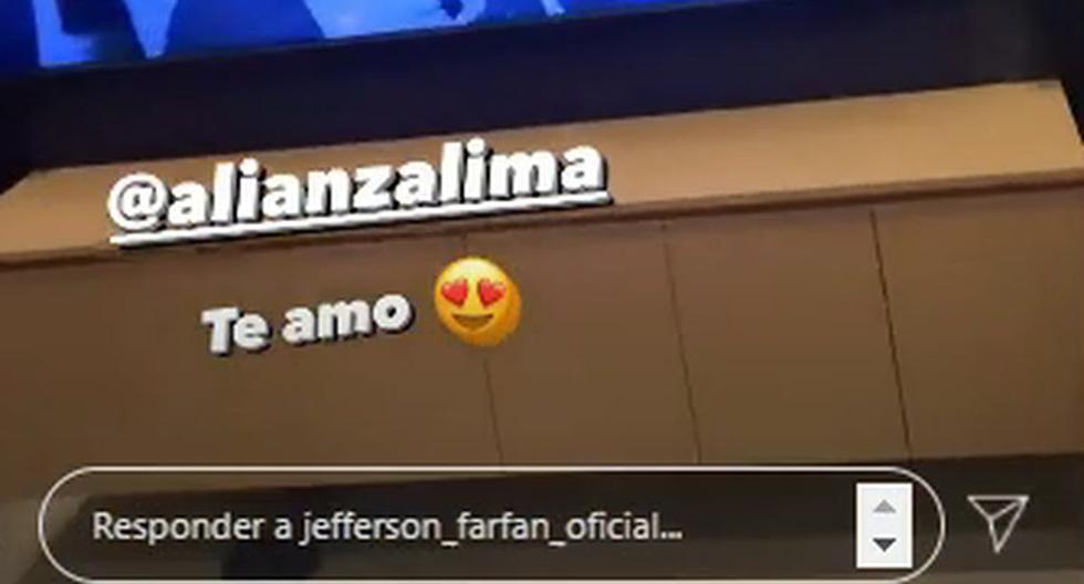 """Alianza Lima   La eufórica celebración de Jefferson Farfán por el triunfo blanquiazul en el clásico: """"¡Ese es Alianza, cara...!""""   Liga 1   Instagram NCZD   FUTBOL-PERUANO"""