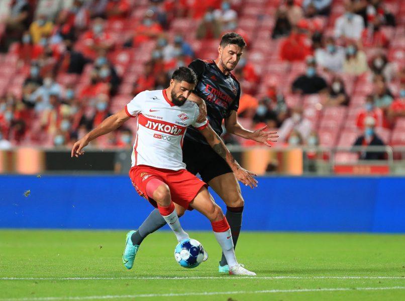 Aproximación de Lyon a Samuel Gigot (Spartak de Moscú)