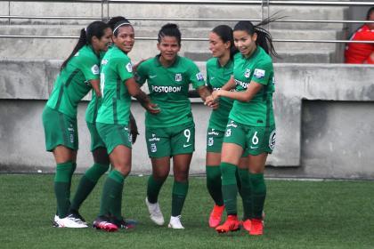 Atlético Nacional femenino: victoria contra Real Santander en Liga Femenina 2021 | Futbol Colombiano | Fútbol Femenino