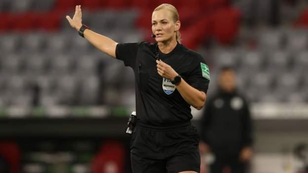 Bibiana Steinhaus: árbitro femenina pionera para supervisar a los oficiales de la WSL y del Campeonato Femenino