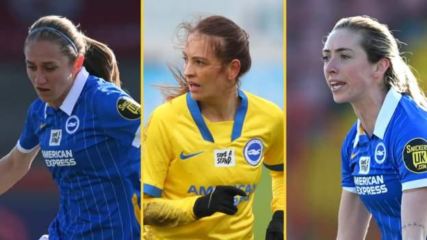 Brighton & Hove Albion: Aileen Whelan, Kayleigh Green y Megan Connolly firman nuevos acuerdos