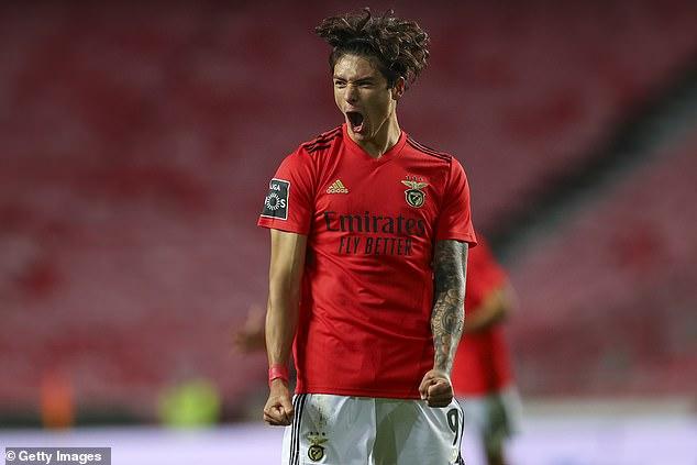 Brighton está en conversaciones con el Benfica sobre una redada de £ 25 millones por el delantero Darwin Núñez