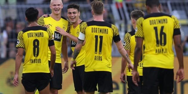 Bundesliga    Borussia Dortmund venció al Eintracht Frankfurt