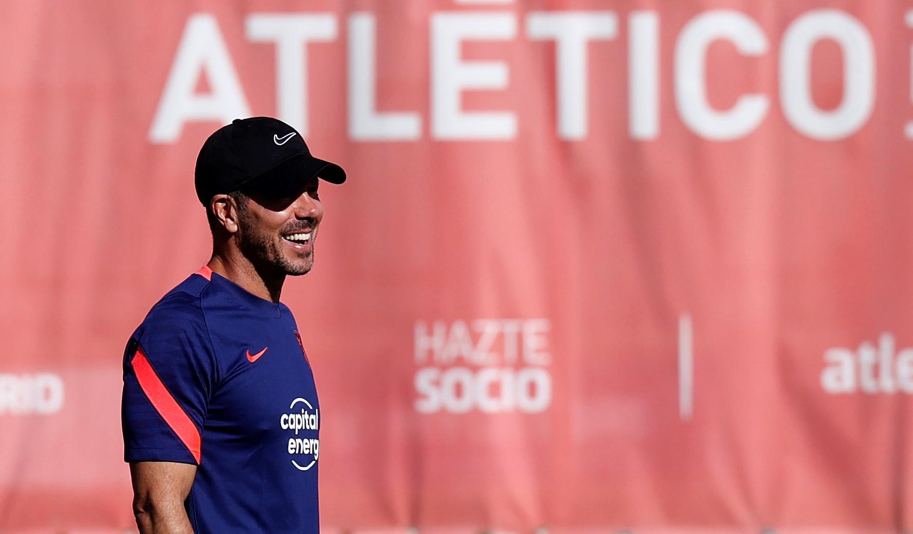 Diego Simeone habla de la defensa del título y su nuevo contrato con el Atlético de Madrid