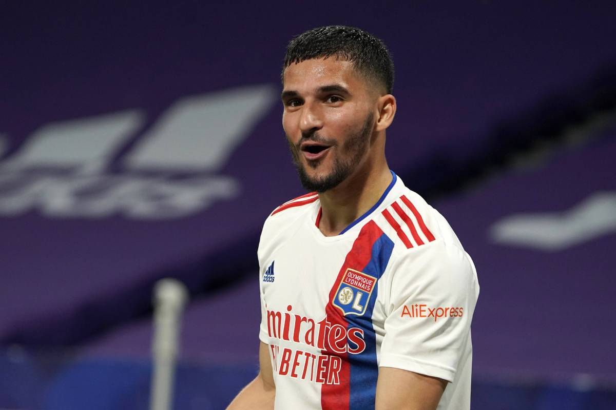 El Arsenal trabaja en un acuerdo con Houssem Aouar