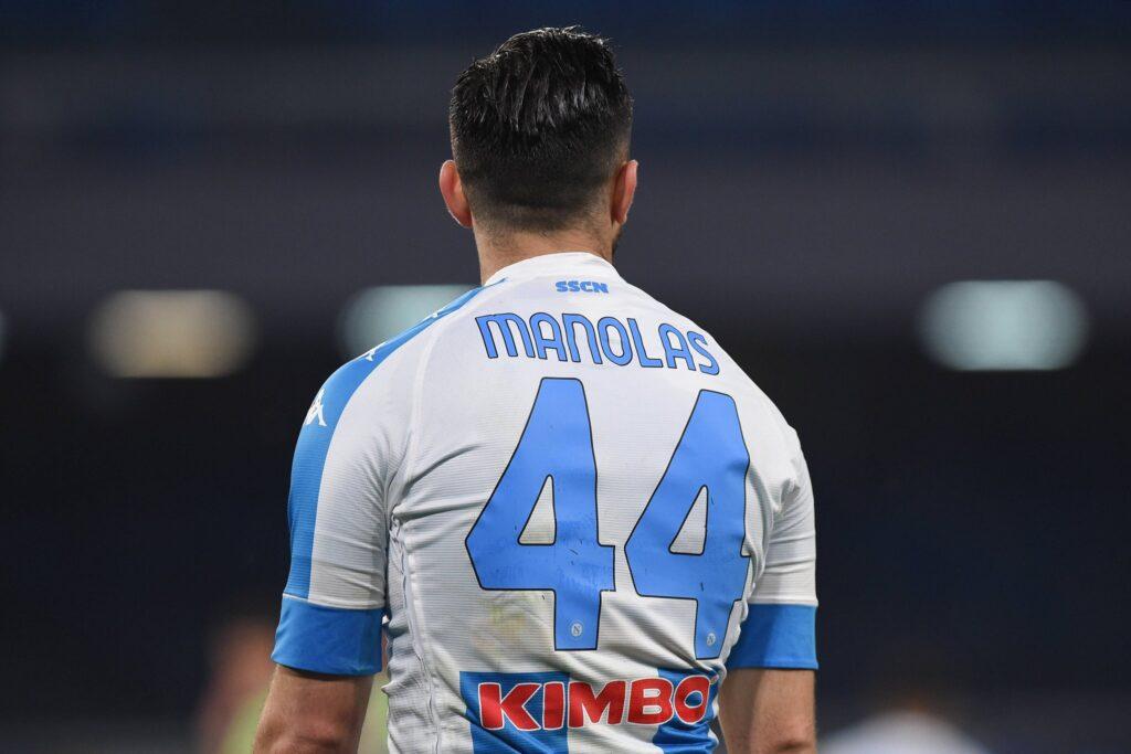 El Napoli negocia una posible marcha de Kostas Manolas