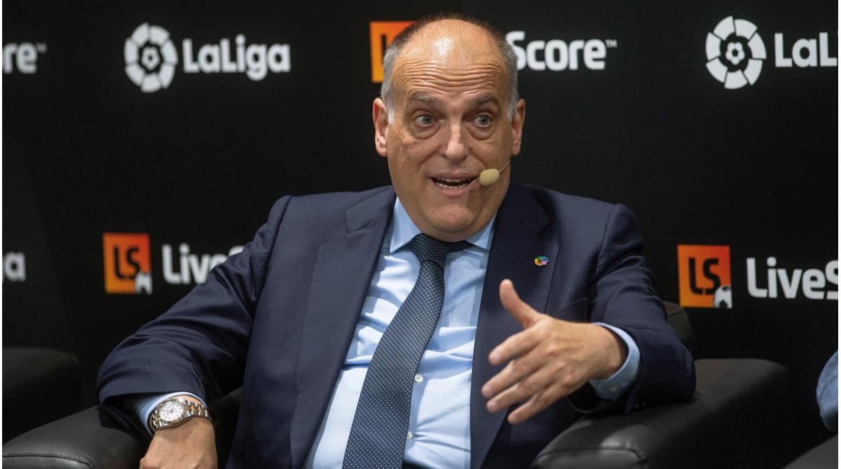 El Real Madrid demandará al técnico de LaLiga, Tebas - CVC también en la mira