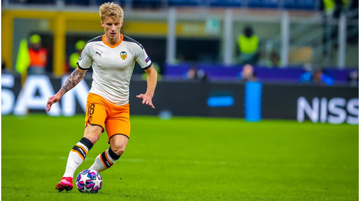 El Valencia CF cuenta con Daniel Wass a pesar del interés del Marsella