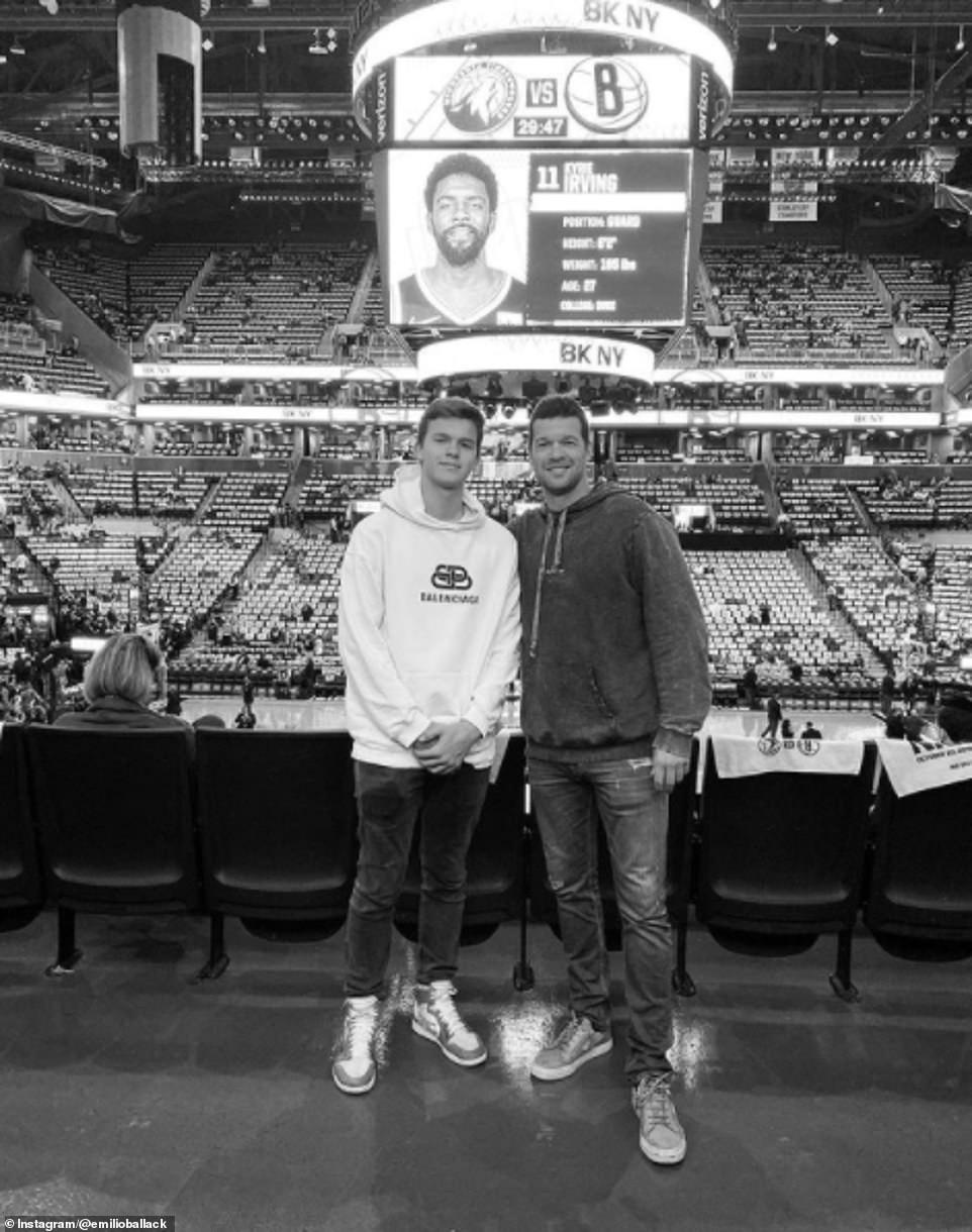 Emilio Ballack (izquierda), hijo del exfutbolista del Chelsea Michael Ballack (derecha), ha muerto tras un accidente de quad