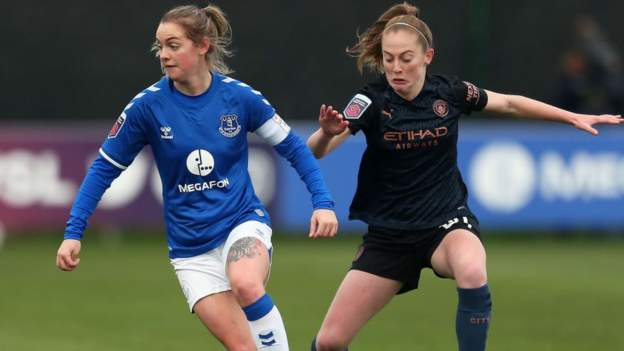 Everton v Man City en WSL se transmitirá en vivo por BBC TV