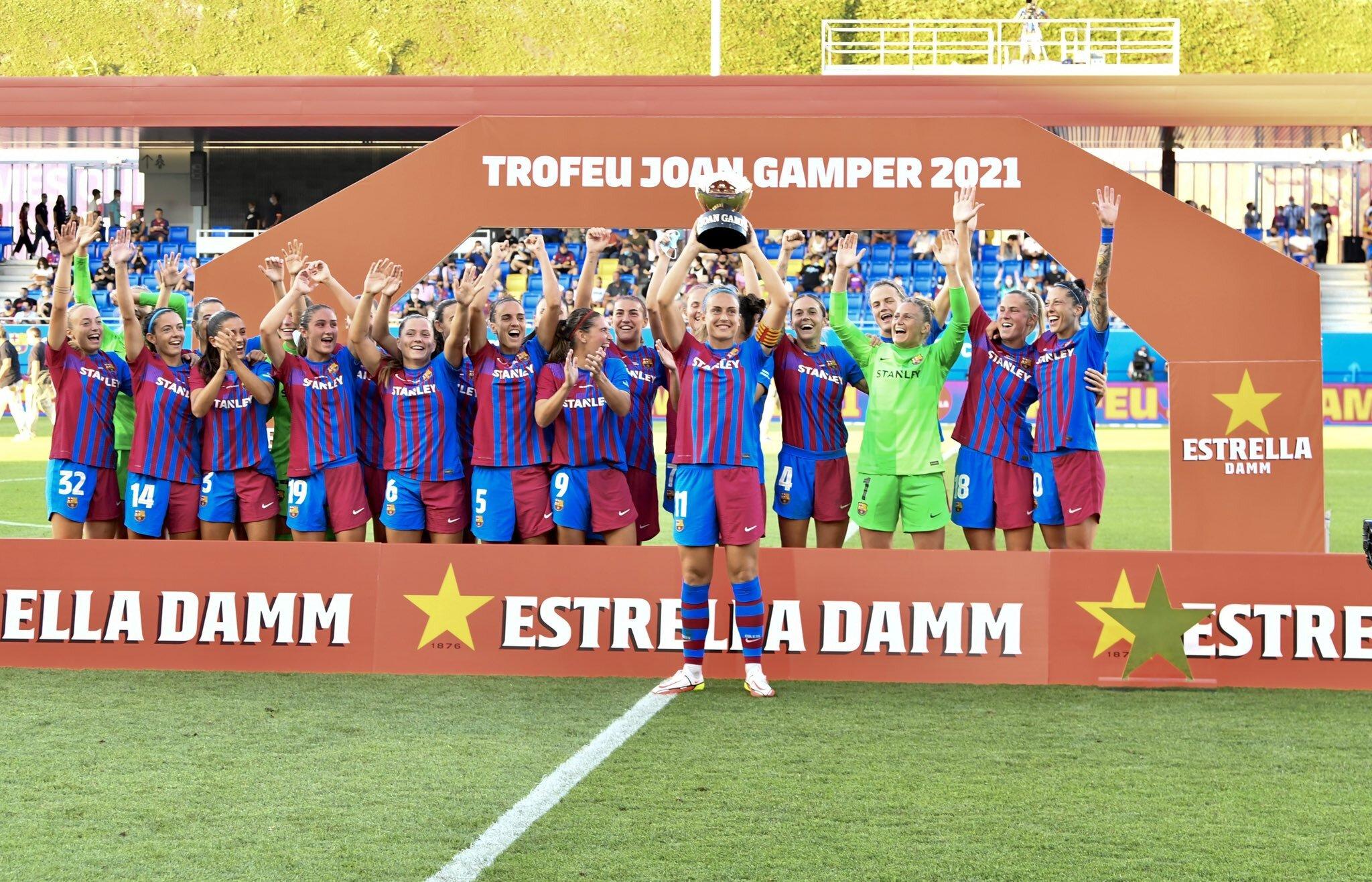 FC Barcelona no se relaja en pretemporada, goleó a Juventus y se llevó el Trofeo Joan Gamper