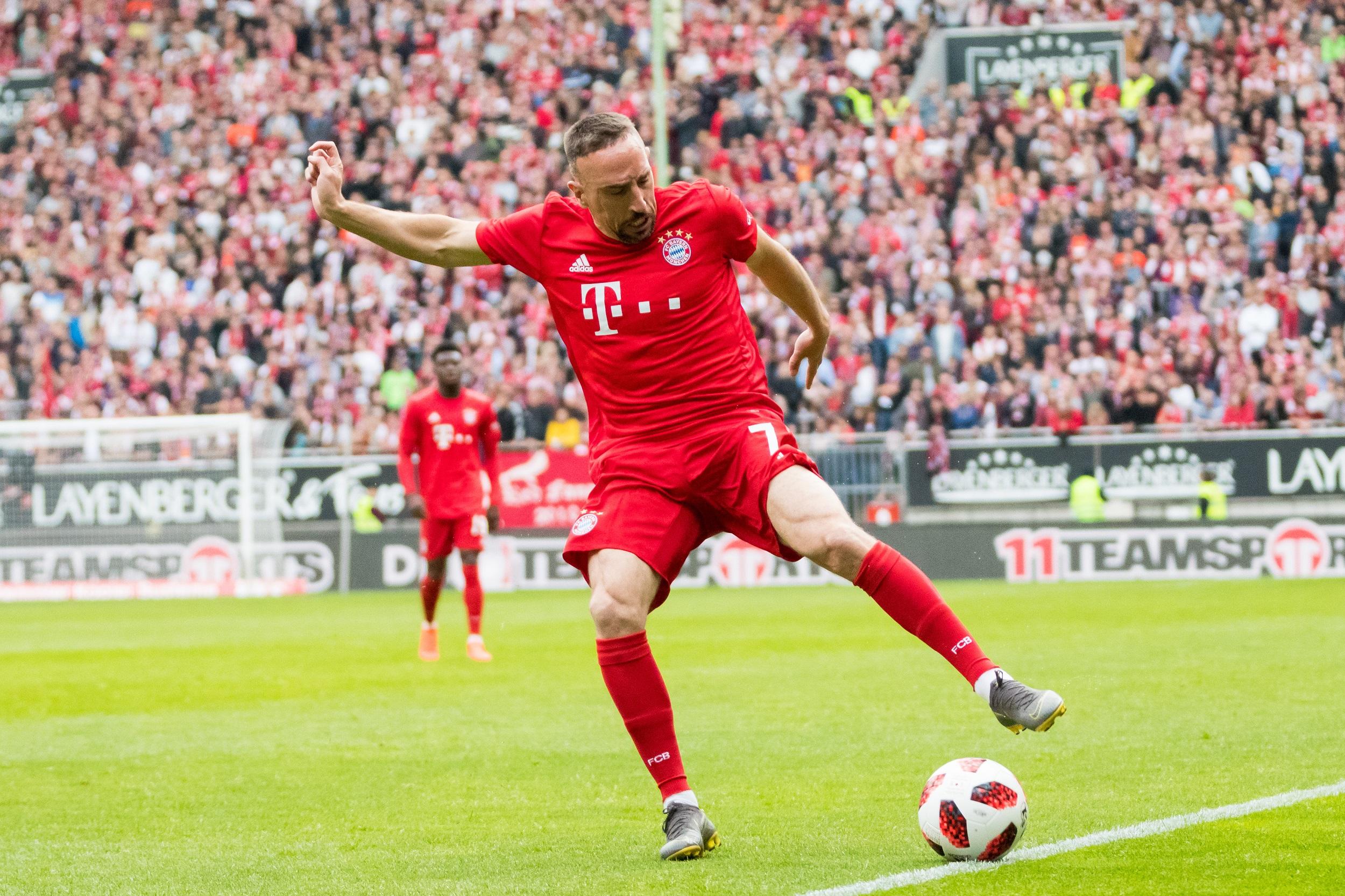 Franck Ribéry confirma que está listo para regresar al Bayern