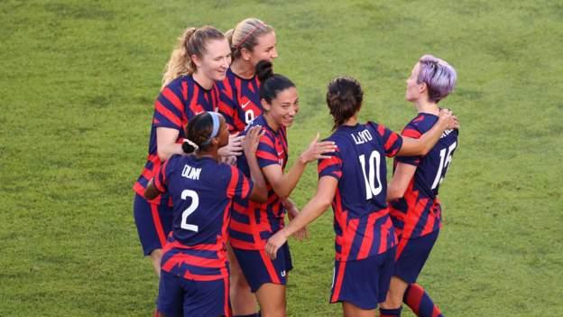 Fútbol olímpico femenino: Estados Unidos derrota a Australia y se lleva el bronce