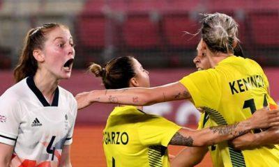 Fútbol olímpico femenino: el GB sufre una dramática derrota en la prórroga ante Australia