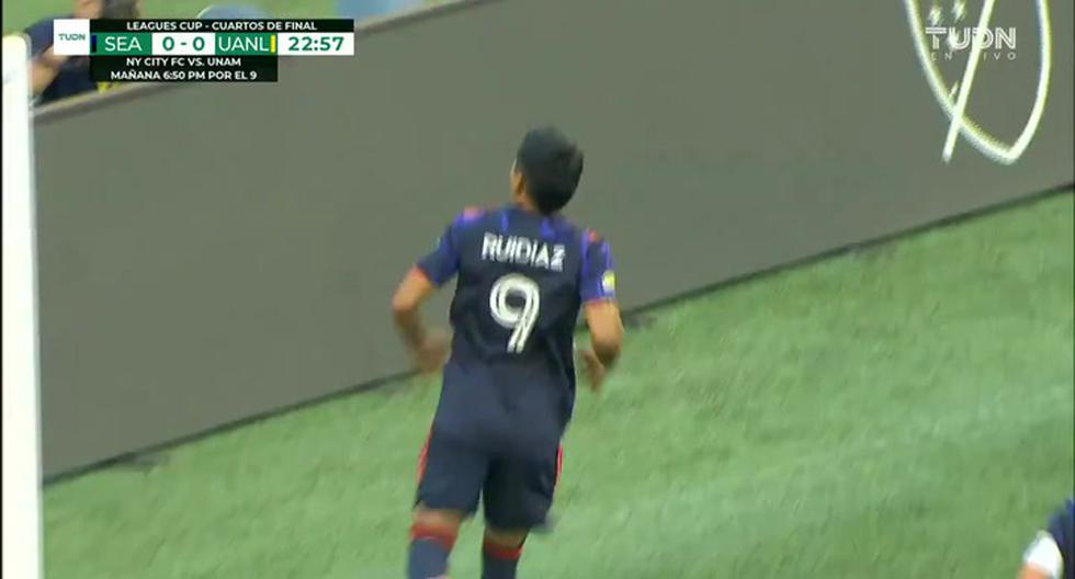 GOL Raúl Ruidiaz en Tigres UANL vs. Seattle Sounders: video por la Leagues Cup 2021   VIDEO   FUTBOL-PERUANO